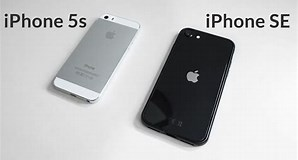 Image result for iPhone 5 vs SE 2020. Size: 298 x 160. Source: www.youtube.com