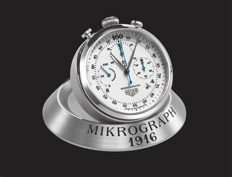 Tag Heuer Anniversary look 2016 heuer mikrograph 100th anniversary the