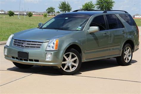 how make cars 2004 cadillac srx lane departure warning buy used 2004 cadillac srx panoramic roof third row seat clean title in houston texas united