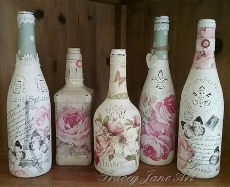 decoupage bottles decoupage bottles at tracey design bournemouth