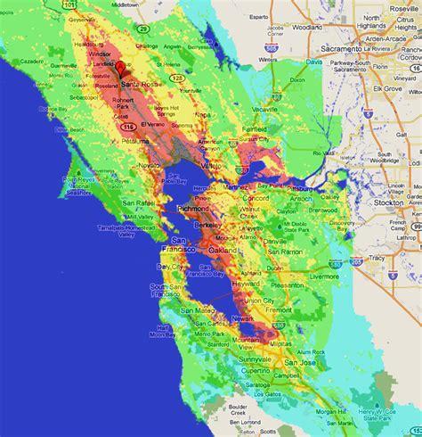 san francisco earthquake map usgs bay area earthquake map kelloggrealtyinc