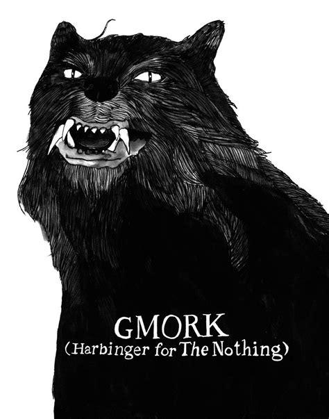 "Never Ending Story Gmork 11"" x 14"" Print by Sam Mitchell"