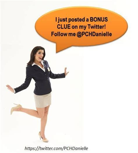 Pch Danielle Lam - pch danielle lam pchdanielle 2h bonus clue for tomorrow s 10 000 award the