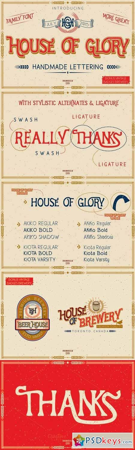 house of glory house of glory familyfont 313158 187 free download photoshop vector stock image via