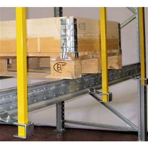 Pallet Stops For Racking by Vertical Back Stops Dexion Pallet Racking Dexion Store