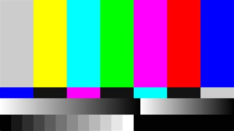 test pattern tv tv color bars stock footage video shutterstock
