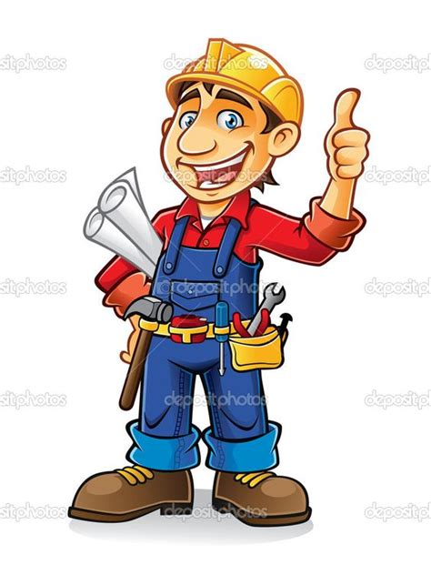 New Alat Tool Tukang Industri Proyek Teknisi Single Row Price Labelle construction worker clip construction worker stock illustration card