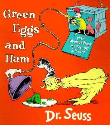 green eggs and ham pictures from the book green eggs ham with stickers board books tattered