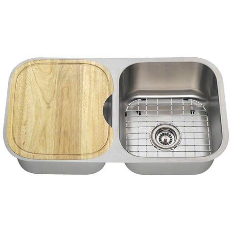 27 undermount kitchen polaris sinks undermount stainless steel 27 1 2 in double