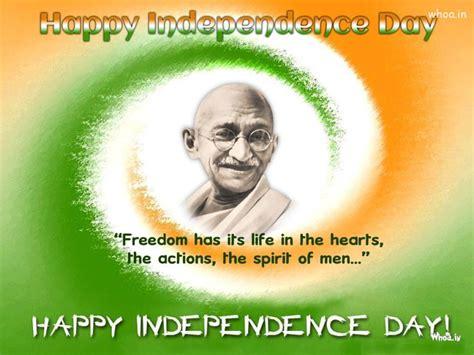 happy independence day mahatma gandhi wallpaper