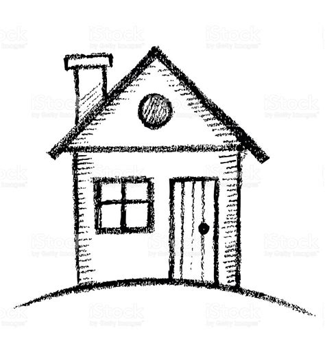 home sketch house sketch stock vector 529100861 istock