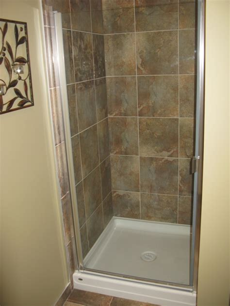 Stand Up Shower Kits by Designs For Stand Up Shower Stalls Are Countless