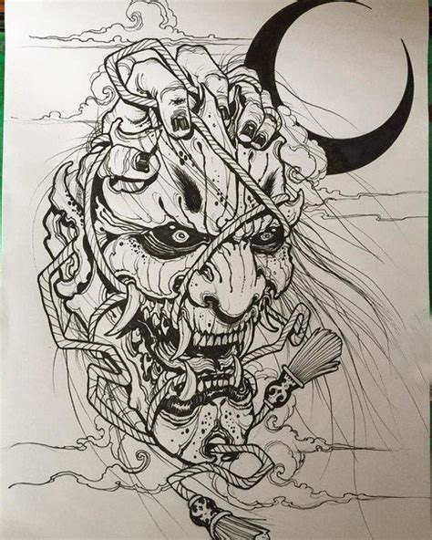 japanese oni mask tattoo designs best 25 oni ideas on japanese