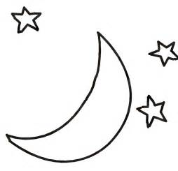 black amp white clipart moon pencil and in color black