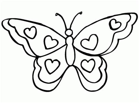 pages butterflies butterfly coloring pages coloringpages1001