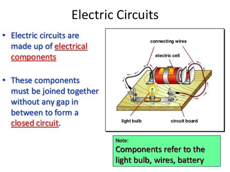 what is an electrical circuit electric field electric circuit and electric current