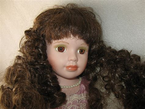 42 porcelain doll porcelain doll style 16 1 2 inch 42cm stand