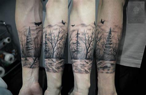 dark forest tattoo forest by abyss tat 2s deviantart on deviantart