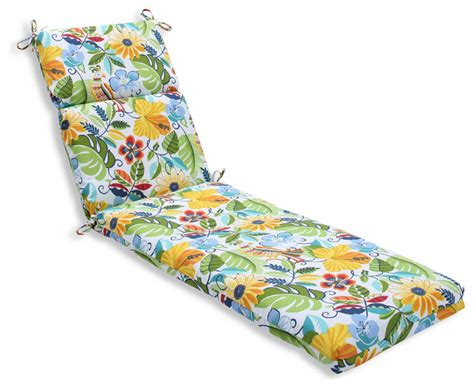 Outdoor Cushions Tropical Lensing Jungle Chaise Lounge Cushion Tropical Outdoor