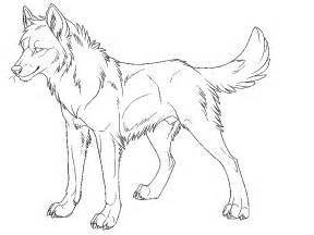anime wolf coloring pages az coloring pages