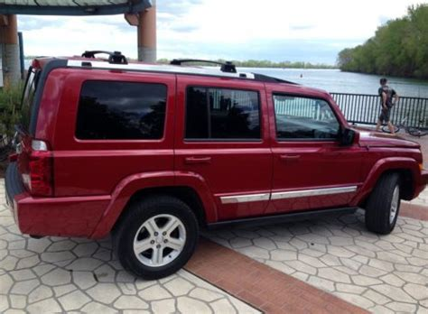 jeep commander with 3rd row seating sell used 09 jeep commander 4x4 limited edition no reserve