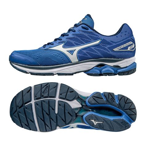 mizuno running shoes wave rider mizuno wave rider 20 mens running shoes