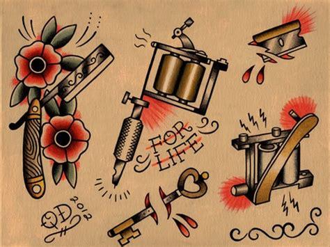 tattoo machine book old school tattoo flash buscar con google old school