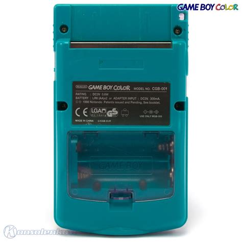 gameboy color shell mod gb color console atomic purple turquoise case mod blue