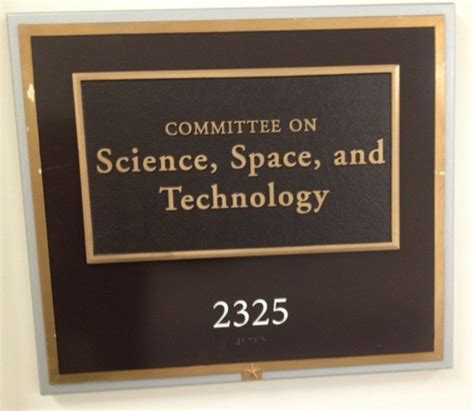 House Science Committee by 2012 September Inside Science Technology Business