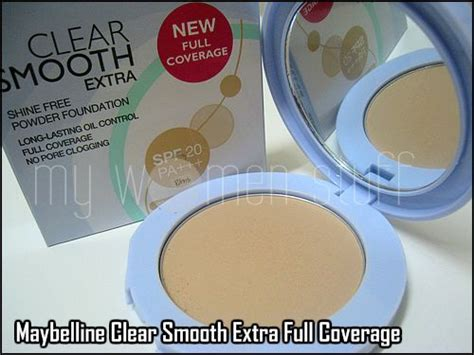 Foundation Maybelline Di Watson Maybelline Smooth Powder Foundation Coverage