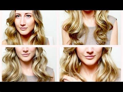 heatless hairstyles tutorials heatless curls a video tutorial showing you how to