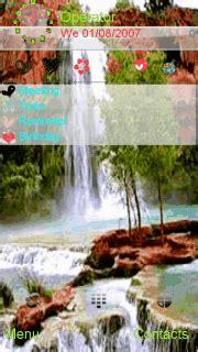 themes mobile waterfall download waterfalls nokia theme nokia theme mobile toones