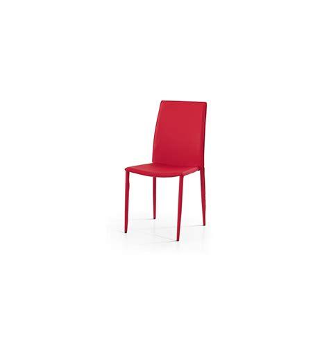 sedie cucina moderne set 4 sedie moderne ecopelle rosse sedia cucina soggiorno