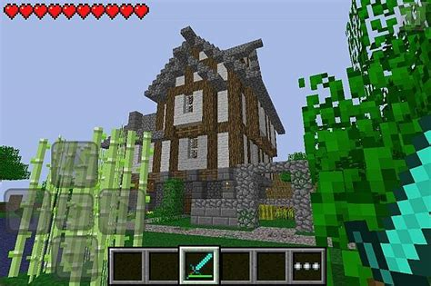 Minecraft Pe House by Minecraft Pocket Edition House Survival Minecraft Project