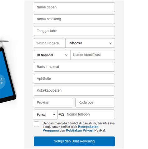 Membuat Sim Tidak Sesuai Ktp | cara membuat paypal tanpa kartu kredit