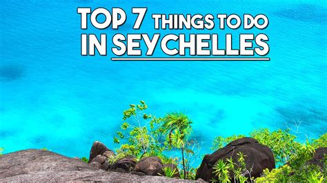 Top 5 Things Wed Like On The Next Ipod by Top 7 Things To Do In Seychelles