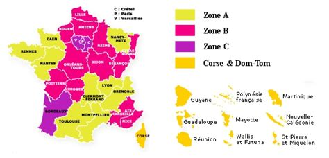Zone Vacances Scolaires Vacances Scolaires 2012 2013 Zone A Zone B Zone C