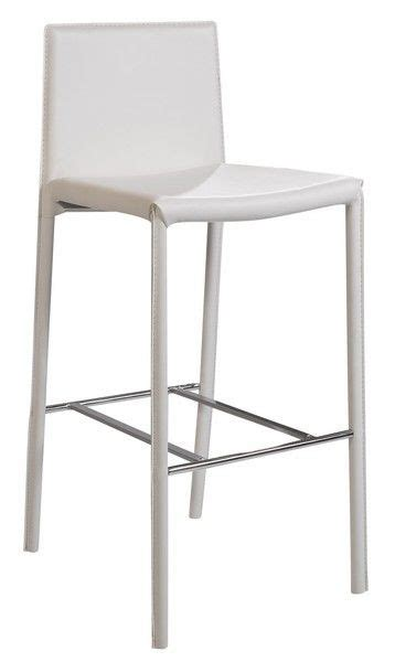 chaises de bar design chaise de bar design camille blanche