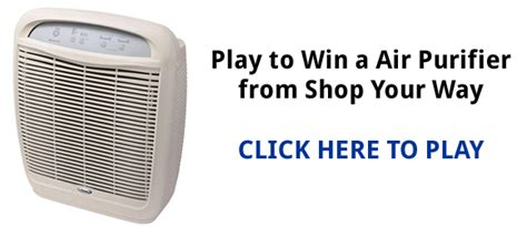 Shop Your Way Instant Win - shop your way air purifier instant win game shopyourway com