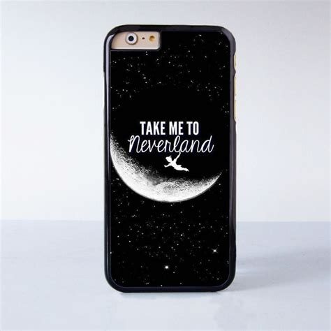 Disney Pan Quotes Iphone 5 5s Se 6 Plus 4s Samsung Htc pan take me to neverland plastic phone for iphone 6 more style for iphone 6 5 5s 5c 4