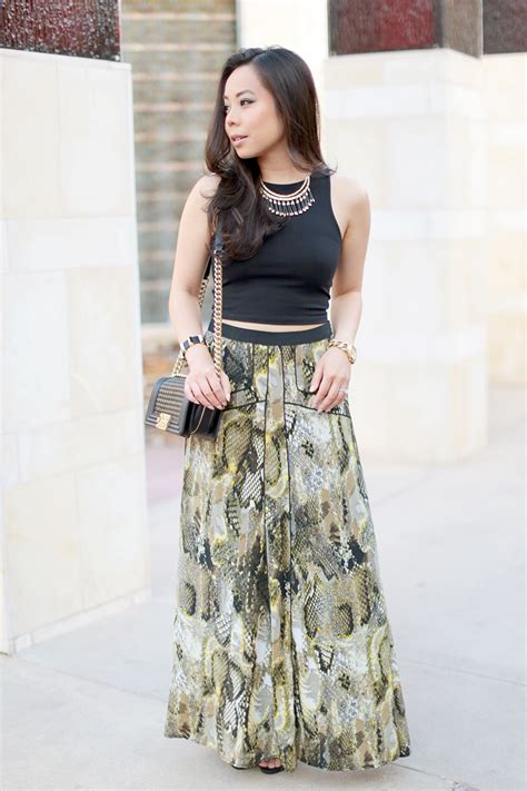 187 crop tops maxi skirts haute pink pretty