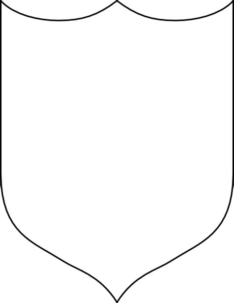 shield template to print free coloring pages of coat of arms template