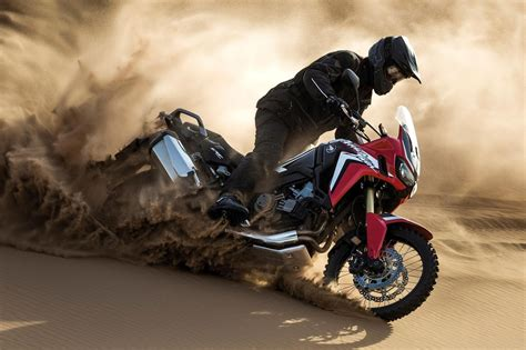 handlebars honda africa twin  motorcycle review car magazine