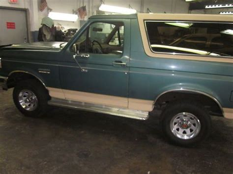 how to sell used cars 1990 ford bronco interior lighting buy used 1990 ford bronco eddie bauer sport utilit 2 door 5 8lhard to find priced to sell in