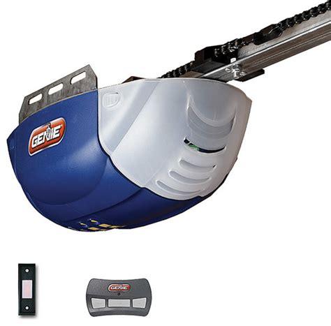 Genie 1022 Dc Chain Drive Garage Door Opener Belt Drive Or Chain Drive Garage Door Opener