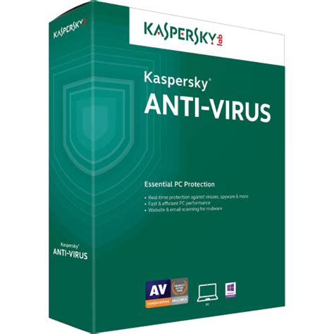 kaspersky anti virus 2018 2 year 1 pc int