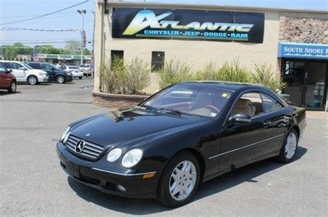 how make cars 2002 mercedes benz cl class navigation system sell used 2002 mercedes benz cl class 2dr cpe in west islip new york united states for us