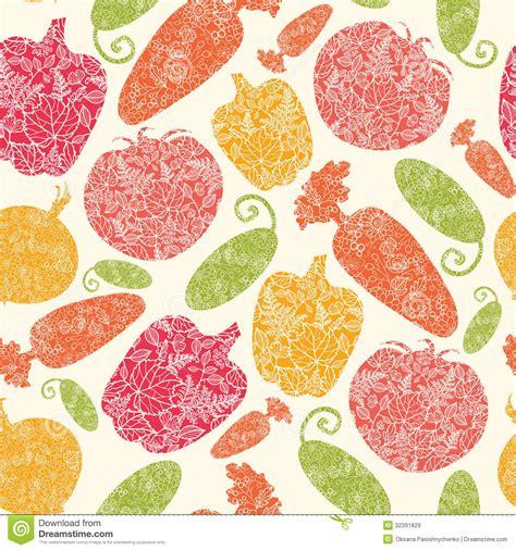 vegetables pattern wallpaper textured vegetables seamless pattern background stock