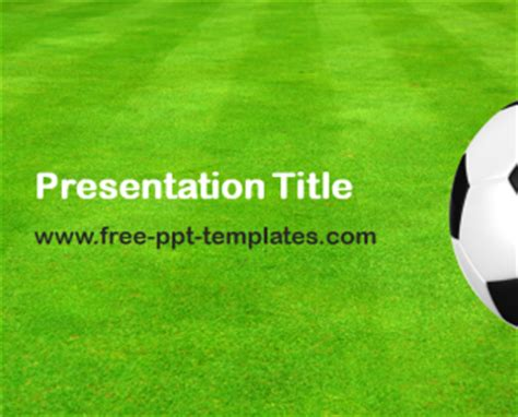 football ppt template free powerpoint templates