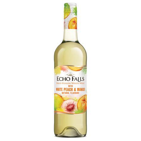 Outdoor Rugs For Camping by Echo Falls Fruit Fusion White Wine 75cl Alcohol Wine
